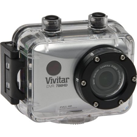 Vivitar 12.1MP Full HD Waterproof Action Camcorder ()