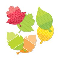 LEAVES 6IN DESIGNER CUT OUTS PAINT