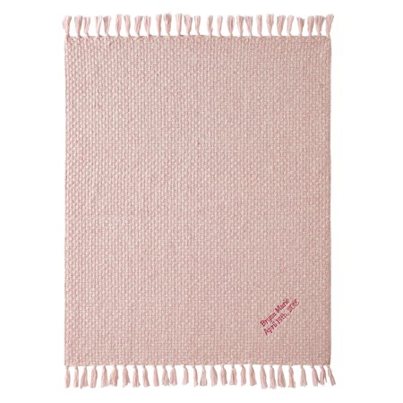 Personalized Honeycomb Baby Blanket Pink Walmart Com