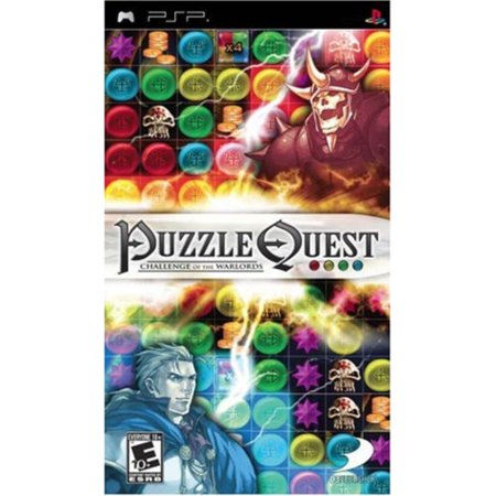 Puzzle Quest: Challenge of the Warlords - Sony (Puzzle Quest Challenge Of The Warlords Psp)