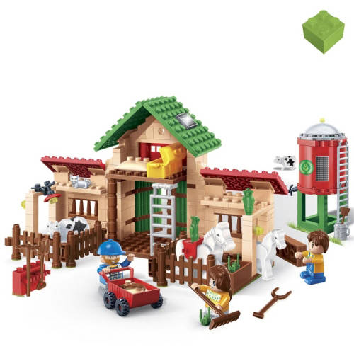 BanBao Life on the Farm 328-Piece Building Set by Generic