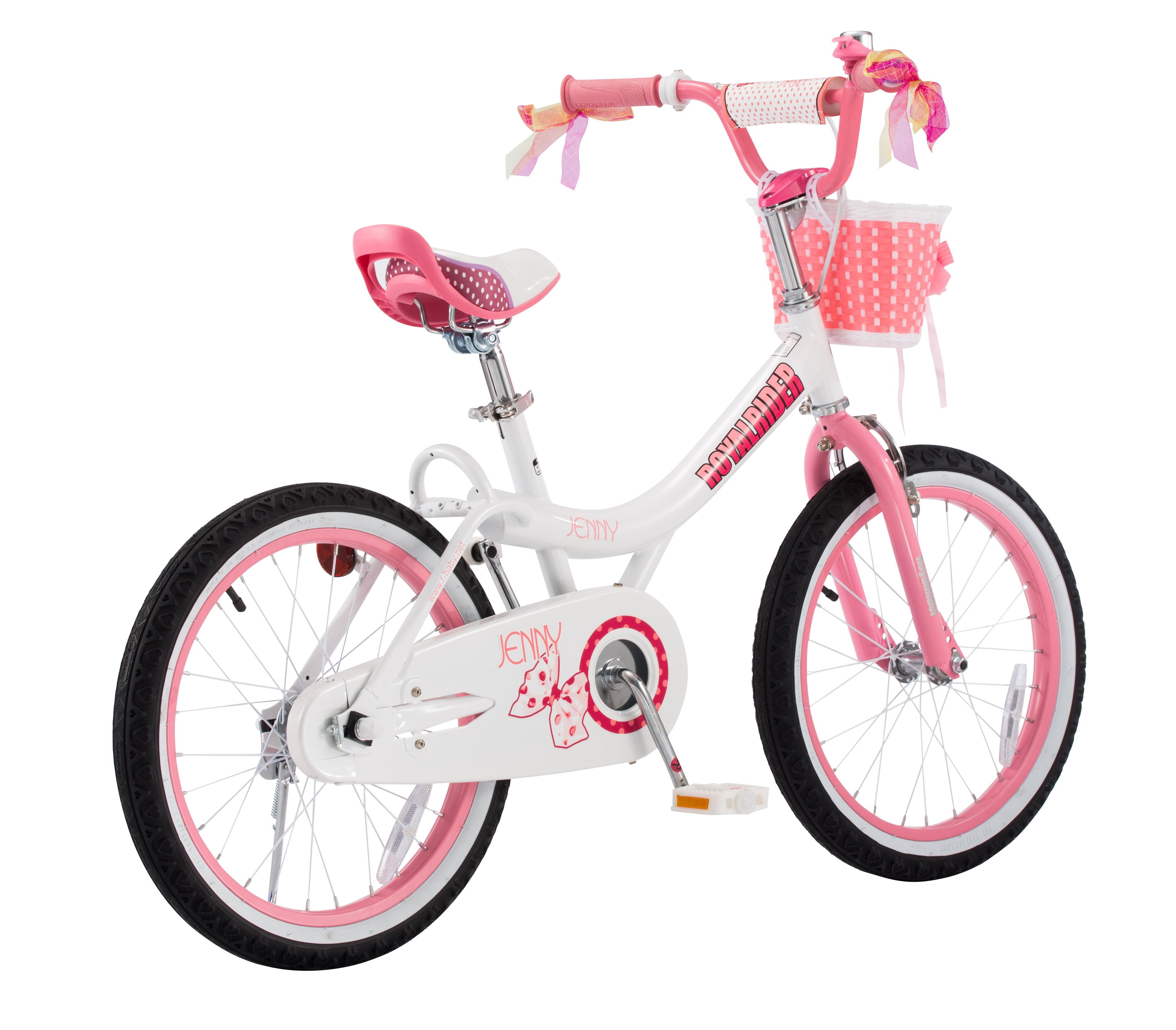 Royalbaby Jenny Princess Pink Girl S Bike With Training