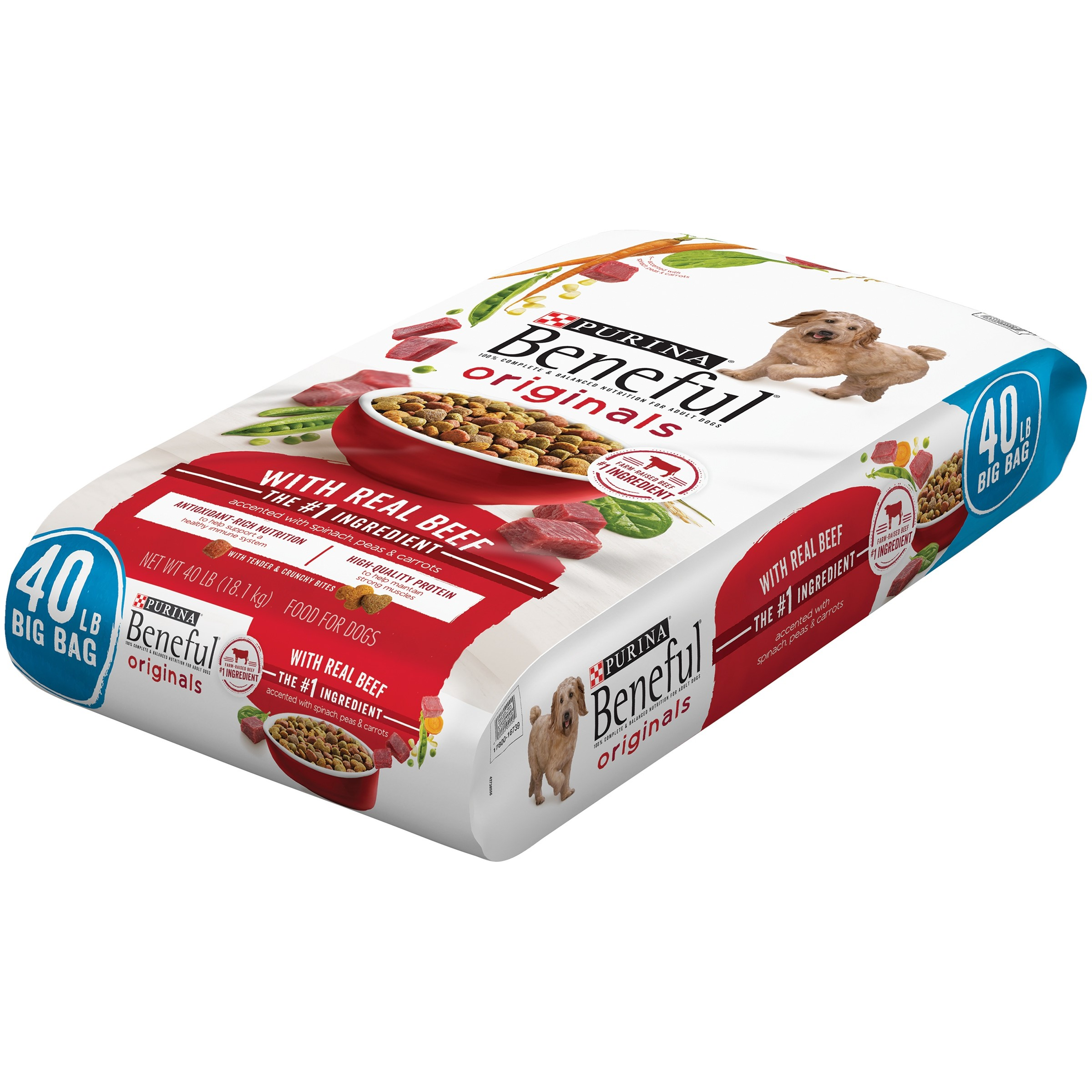 Purina Beneful Originals With Real Beef Dog Food 40 lb. Bag
