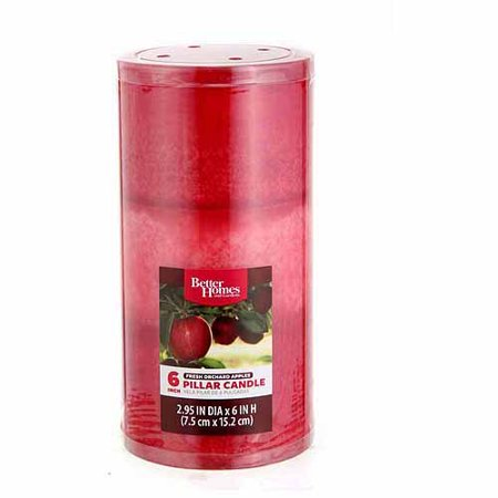 Better Homes And Gardens 6 Pillar Candle Fresh Picked