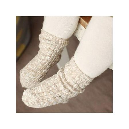 Nicesee Kids Soft Anti-slip Cotton yarn Socks (Soft Yarn Socks)