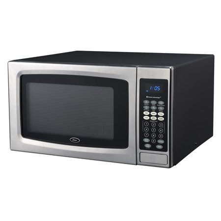 Oster OGZE1304S 1.3 Cubic Foot 1100 Watt Microwave Oven with Sensor