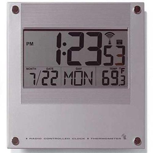 CONTROL COMPANY 1076 Digital Radio Atomic Wall Clock