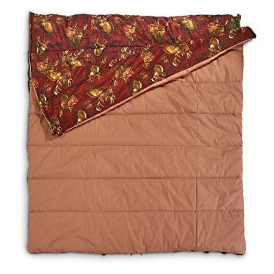 Guide Gear legacy canvas double sleeping bag 20 degree