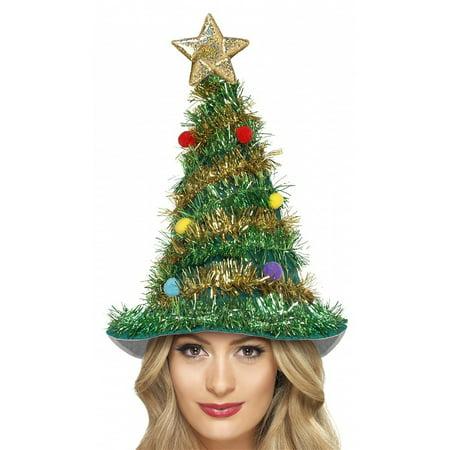 Christmas Tree Hat Adult Costume Accessory - Christmas Tree Costumes