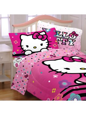 7fec110f9 Product Image Hello Kitty Kids 4Pc Sheet Set, Floral Ombre, 1 Set Each