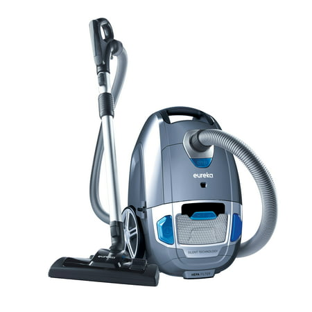 Eureka Optima Silent Clean Bagged Canister Vacuum with HEPA Filtration, Model