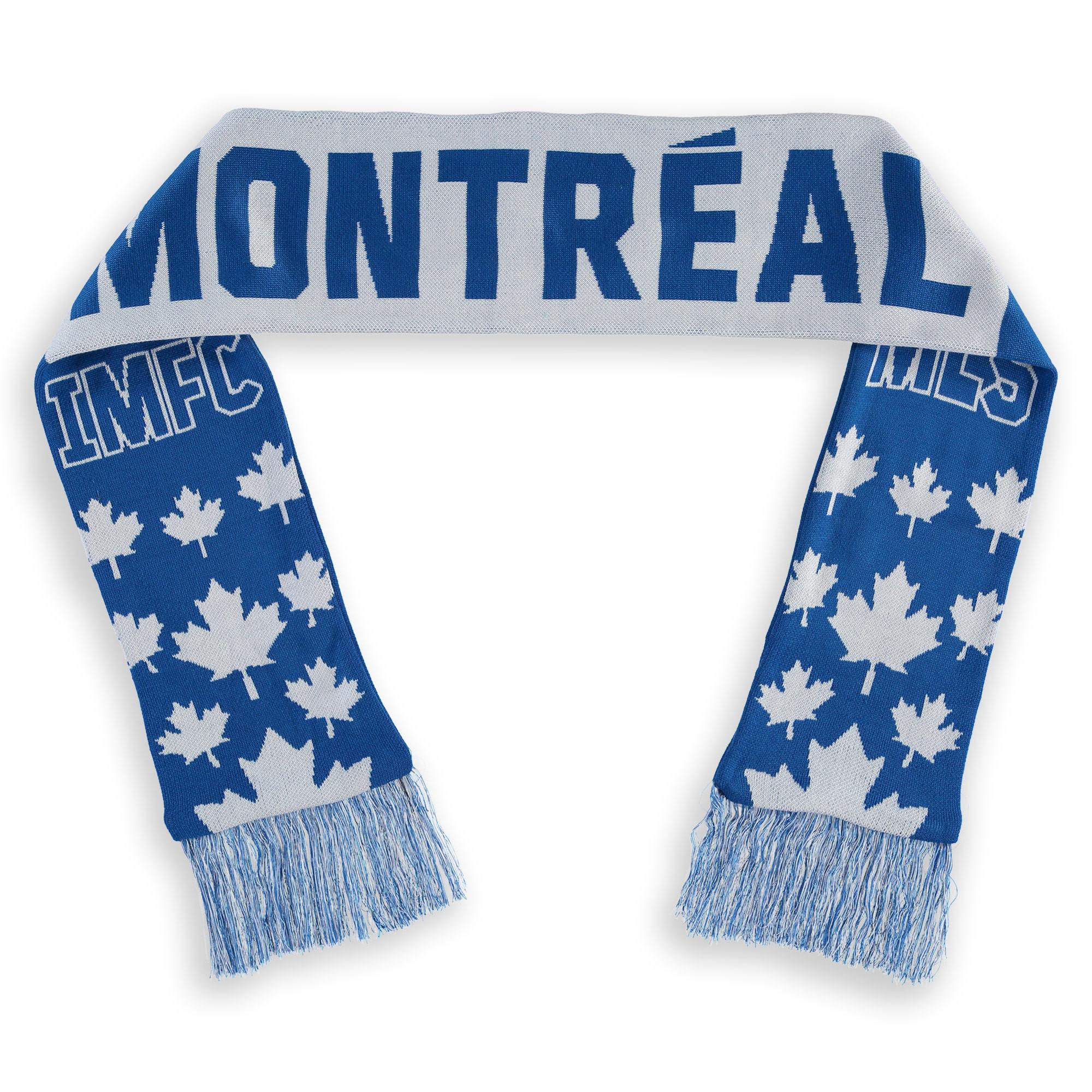 Montreal Impact Fanatics Branded Jacquard Americana Scarf - Royal/White - OSFA