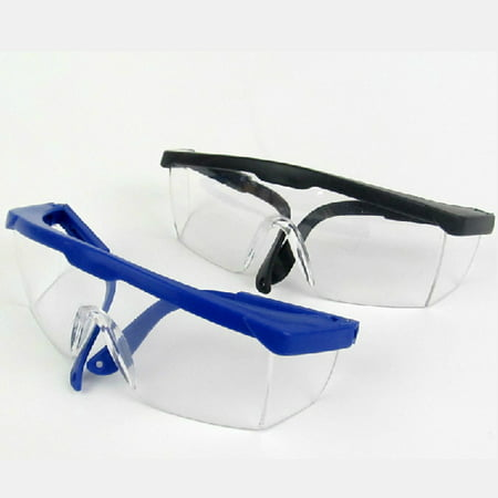 Kids Safety Glasses Protective Eyewear Safety Goggles for EVA Bullet Gun Game Toy,Random Color(Black or Blue)