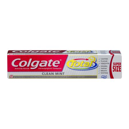 Colgate Total Clean Mint Toothpaste - 7.8 (Colgate Total Clean Mint)