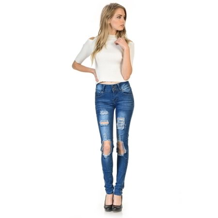 Sweet Look Premium Edition Women's Jeans · Skinny · Style CH134H-R - image 4 de 4