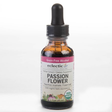 Eclectic Institute Passion Flower Extract, 1 Fl. oz. bottle - 2 oz Passion Flower Medicinal