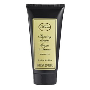 The Art of Shaving Shaving Cream, Unscented, 2.5 Oz