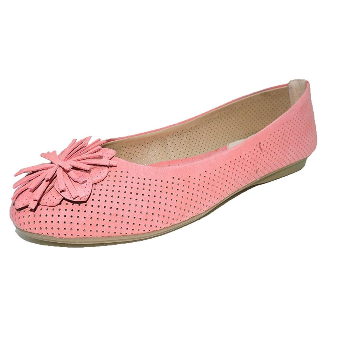 Hush Puppies Cala Atkin IIV Womens Pink Flats by Hush Puppies