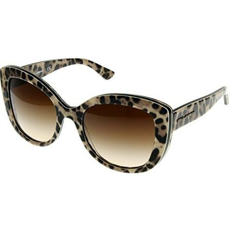 Dolce & Gabbana Sunglasses Women Top Leo On Leo Square DG4233 287013 Size: Lens/ Bridge/ Temple: (Top 10 Sunglasses Brands For Women)