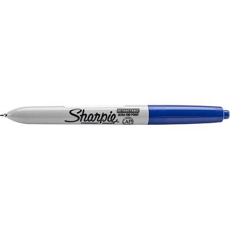 Sharpie Fine Point Retractable Permanent Marker Open Stock