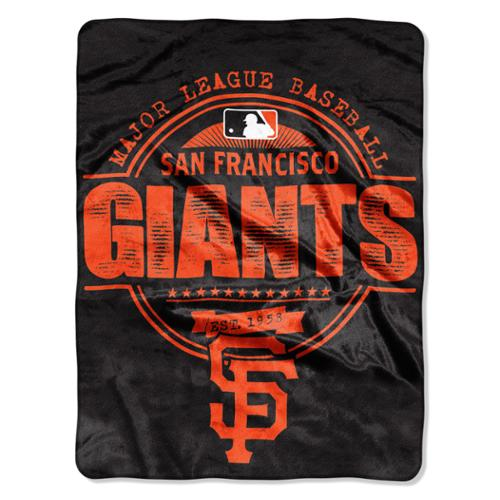 SF Giants Structure Micro Throw Blanket