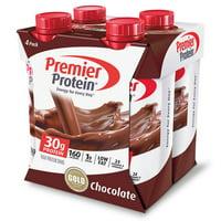Premier Protein Shake, Chocolate, 30g Protein, 11 Fl Oz, 4 Ct