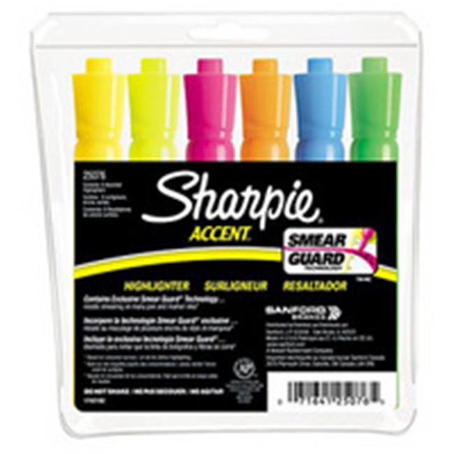 Art Supplies 25076 Major Accent Highlighter 6 Set by Art Supplies