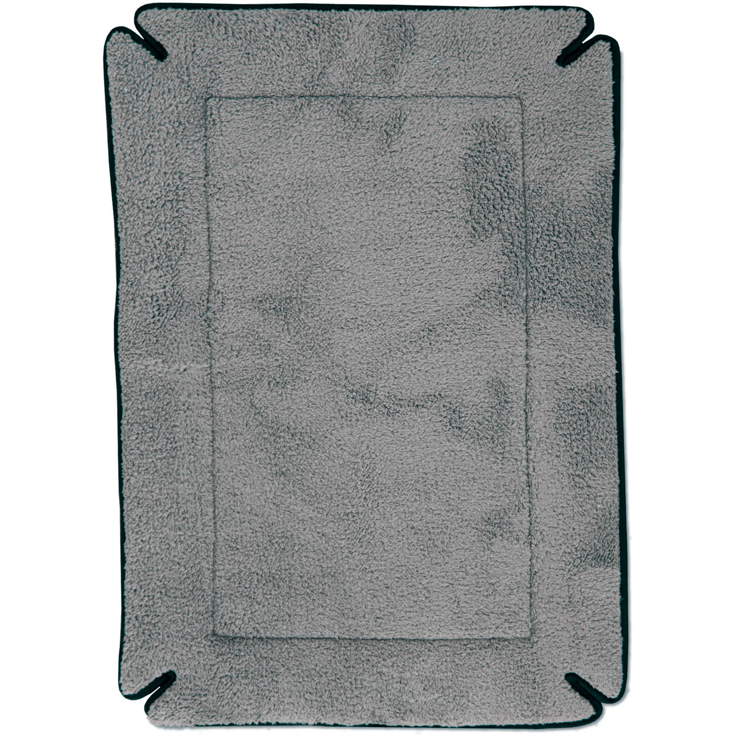 "K&H Pet Products Memory Foam Crate Pad, Grey, 32"" x 48"""