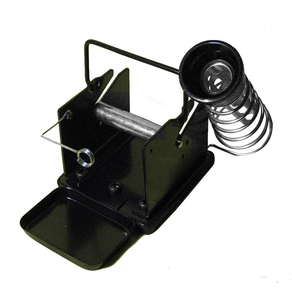 Soldering Iron Gun Stand Holder Support Station Metal Base With Solder SponTS