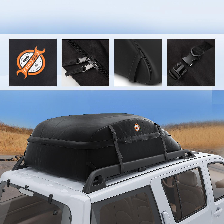 15 Cubic Feet Reese Explore 1041100 Rainproof Car Top Carrier