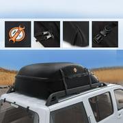 "Clearance! Waterproof Cargo Bag  51"" x 39"" x 17"" Box Van SUV Car Top Rooftop Luggage Carrier Black"