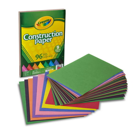 Crayola 96 Count Construction Paper Great for Crafting Projects](Halloween Crafts To Do With Construction Paper)