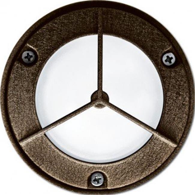 Dabmar Lighting LV-LED704-W 2.5W & 12V JC-LED 15 LEDs Round Open Face Y Guard Step Light - White - image 1 of 1