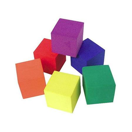 Teacher Created Resources 20615 Foam Color Cubes