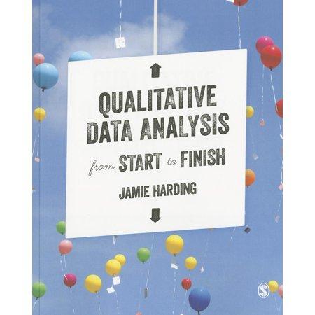 Qualitative Data Analysis from Start to Finish (Qualitative Data Analysis From Start To Finish)