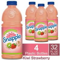 (4 Pack) Snapple Kiwi Strawberry Juice Drink, 32 Fl Oz Bottle, 1 Count