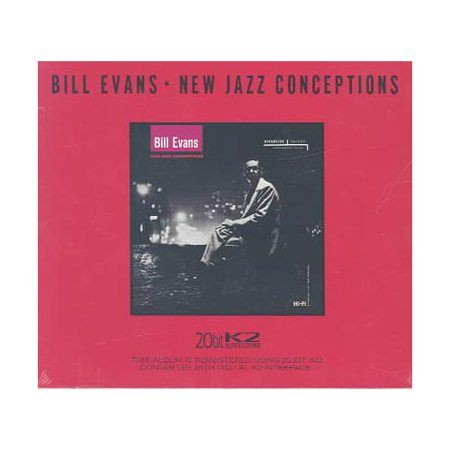 Personnel: Bill Evans (piano); Teddy Kotick (bass); Paul Motian (drums).Recorded at Reeves Sound Studio, New York, New York on September 18 & 27, 1956. Originally released on Riverside (223).  Includes liner notes by Orrin Keepnews.Digitally remastered by Danny Kopelson (1987, Fantasy Studios, Berkeley, California).This groundbreaking recording was the first to feature then-unknown Bill Evans as a leader, and it also introduced a trio format of piano, bass, and drums, which would become Evans's standard format for playing and recording.  NEW JAZZ CONCEPTIONS, recorded when Evans was just 26, merges his articulate, vigorous playing with the music of fellow Tony Scott Quartet musicians Teddy Kotick on bass and the extroverted Paul Motian on drums.  The album's four original compositions include