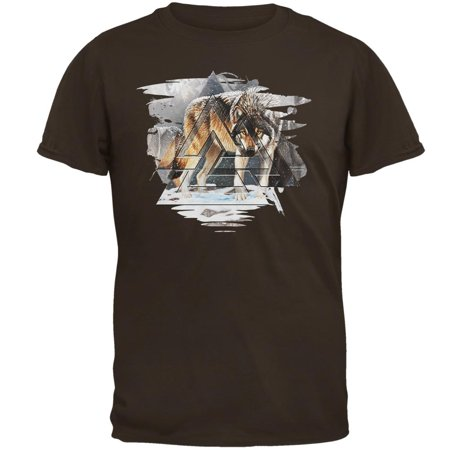 Nordic Wolves of Winter Mens T Shirt