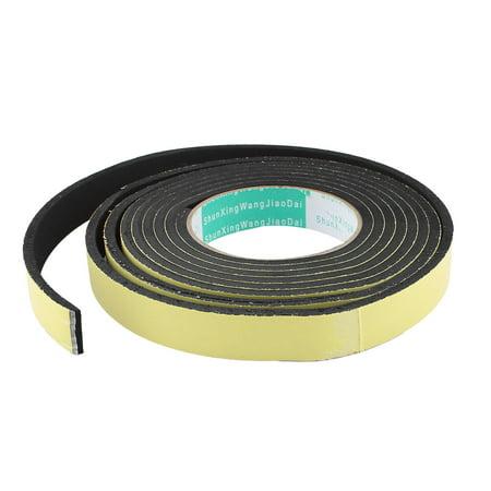 Unique Bargains 3 Meter 20mm x 5mm Single Side Adhesive Foam Sealing Tape for Door (3 Meter Adhesive Foam Tape)