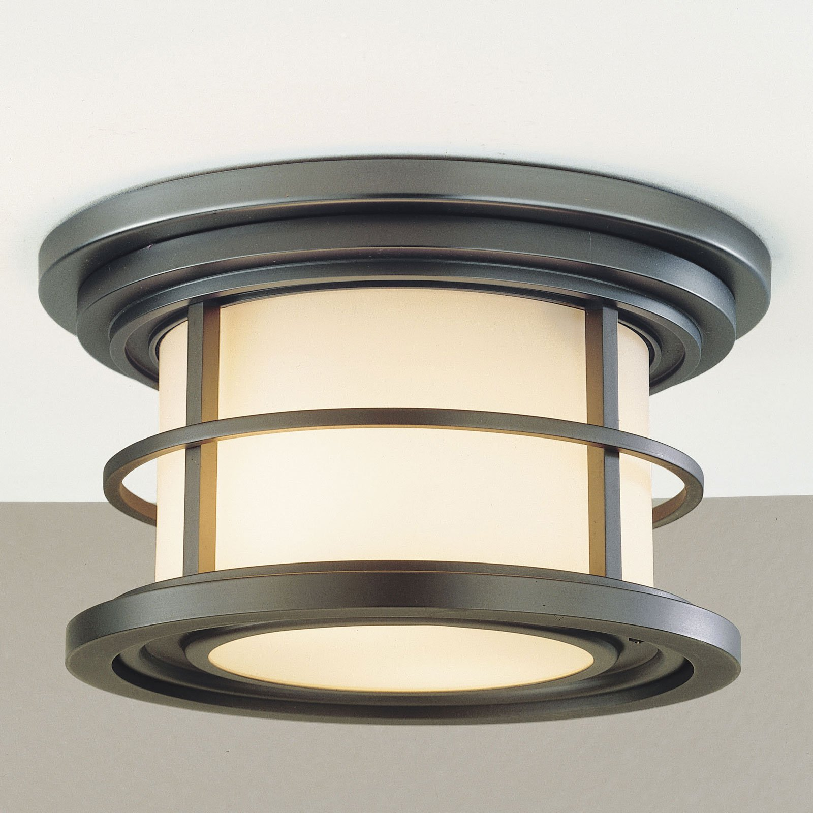 Feiss Lighthouse Outdoor Ceiling Light - 5.5H in. Burnished Bronze