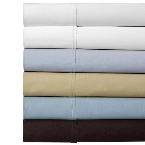 100 Percent Cotton Percale 350 Thread Count Sheet Set King