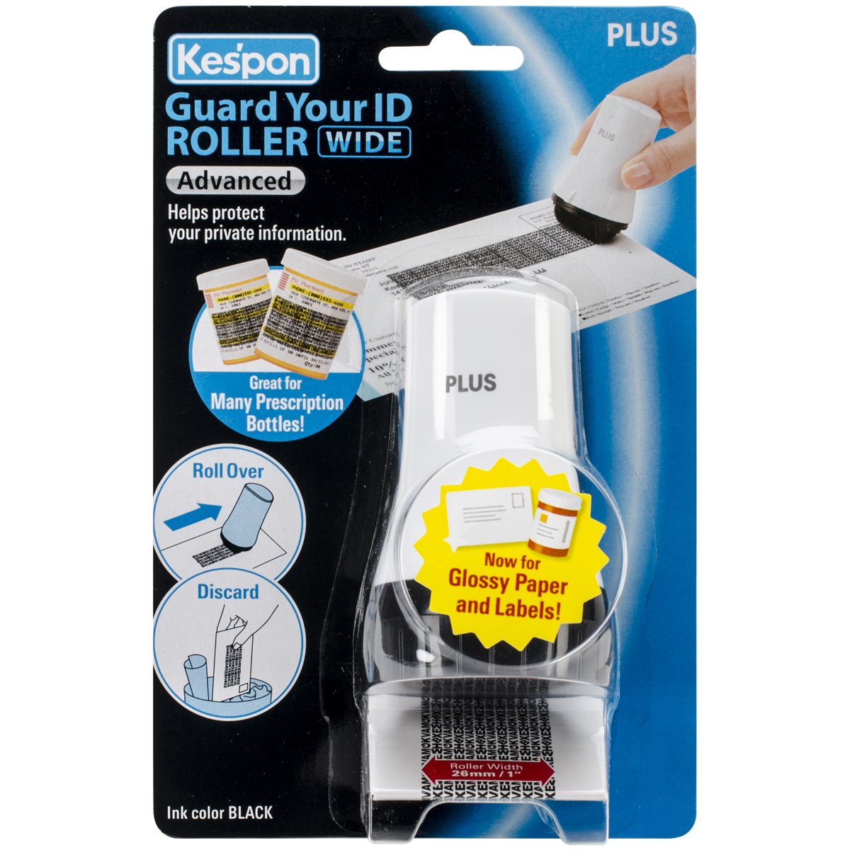 Kes'pon Advanced Wide ID Guard Roller-White
