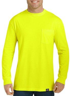 Men's Long Sleeve Enhanced Visibility T-Shirt, 2-Pack