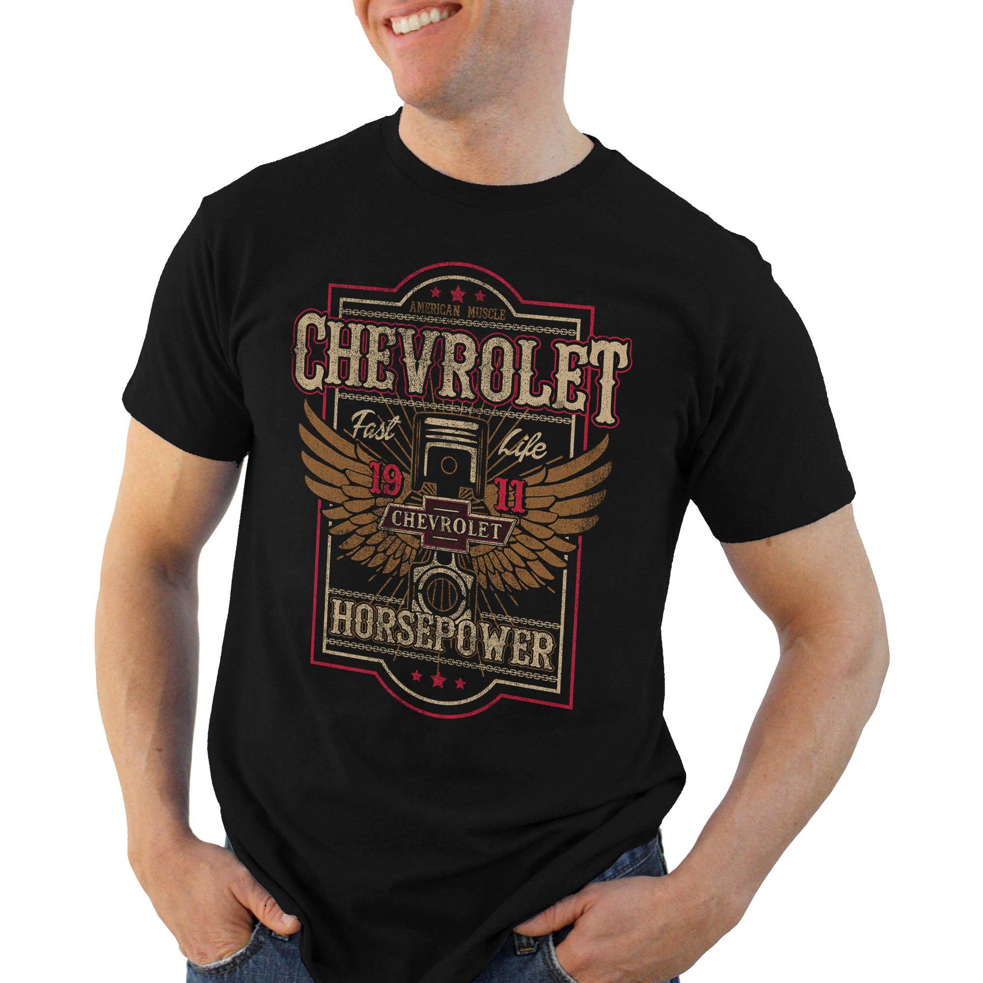 Chevy Piston Power Men's Graphic Tees