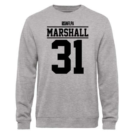 Marshall Player (Richard Marshall NFLPA Player Issued Sweatshirt - Ash )