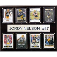C&I Collectables NFL 12x15 Jordy Nelson Green Bay Packers 8-Card Plaque