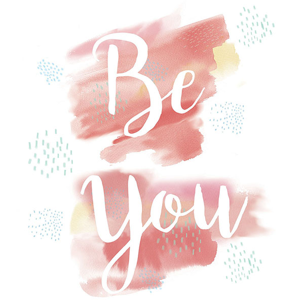 WallPops Be You Wall Quote