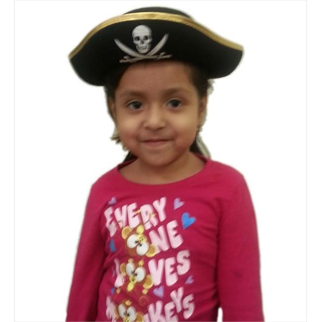 CoverYourHair am241 Childs Felt Pirate Hat