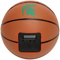 Michigan State Spartans Buzzerbeater Basketball Alarm Clock - No Size
