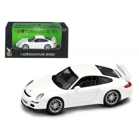 Porsche 911 997 GT3 White Signature Series 1/43 Diecast Model Car by Road